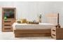 Κρεβάτι Norma φυσικού ξύλου BED-0186-0014 Efdeco Image 2