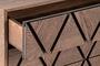 Συρταριέρα Rhombus φυσικού ξύλου DRA-0360-0014 Efdeco Image 6