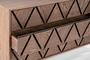 Συρταριέρα Rhombus φυσικού ξύλου DRA-0360-0014 Efdeco Image 5