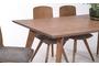 Τραπέζι North φυσικού ξύλου TAB-0186-0016 Efdeco Image 5