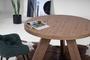 Τραπέζι τραπεζαρίας Brazil με προέκταση TAB-0200-0070 Efdeco Image 4