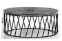 Τραπεζάκι σαλονιού Leon μαρμάρινο 95x40 cm COF-0961-0092 Efdeco Image 4