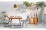 Τραπέζι Dover φυσικού ξύλου TAB-0260-0054 Efdeco Image 4