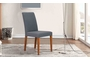 Καρέκλα τραπεζαρίας Easy Γκρί-Μπλέ CHA-0915-01451 Efdeco Image 4