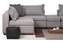 Γωνιακός καναπές Cozy Γκρί Ανοιχτό COR-0260-0001 Efdeco Image 14