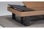Τραπεζάκι σαλονιού Cartellina φυσικό COF-0360-0139 Efdeco Image 3