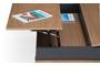 Τραπεζάκι σαλονιού Layer σε φυσικό δρυς COF-0360-0144 Efdeco Image 3