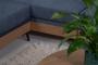 Γωνιακός καναπές Hero μπλε COR-0360-0066 Efdeco Image 9