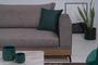 Γωνιακός καναπές Hero καφέ COR-0360-0065 Efdeco Image 5