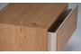 Κομοδίνο Fire φυσικού ξύλου COM-0186-0008 Efdeco Image 5
