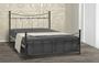 Μεταλλικό κρεβάτι Grow BED-0187-0024 Efdeco