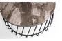 Τραπεζάκι σαλονιού Leon μαρμάρινο 95x40 cm COF-0961-0092 Efdeco Image 3