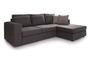 Γωνιακός καναπές Person Γκρί Σκούρο COR-0088-00681 Efdeco