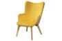 Πολυθρόνα Tend Κίτρινο ARM-0624-00251 Efdeco