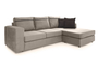 Γωνιακός καναπές Person Μόκα COR-0088-00682 Efdeco