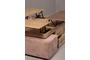 Τραπεζάκι σαλονιού Poly φυσικού ξύλου COF-0186-0012 Efdeco Image 4