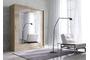 Ντουλάπα συρόμενη Vita Mini με καθρέπτη 200x215x60cm 16291769 Efdeco Image 3