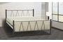 Μεταλλικό κρεβάτι Vito BED-0187-0030 Efdeco