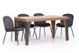 Τραπέζι West φυσικού ξύλου TAB-0260-0055 Efdeco Image 5