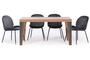 Τραπέζι West φυσικού ξύλου TAB-0260-0055 Efdeco Image 7